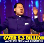 HEADLINE: The World Stands Still As Over 5.3 Billion People Join Pastor Chris In A Global Day Of Prayer